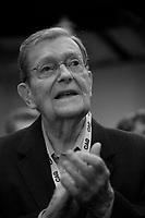 L'ancien chef de l ADQ Jean Allaire<br />  lors du Premier jour du conseil general de la Coalition Avenir Quebec<br /> , le 25 mai 2019.<br /> <br /> PHOTO :  Agence Quebec Presse
