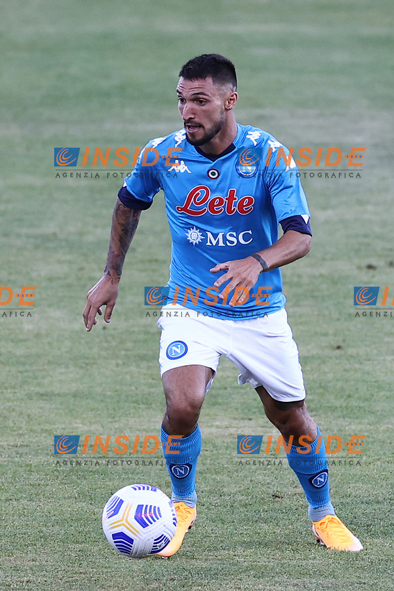 Matteo Politano of SSC Napoli<br /> during the friendly football match between SSC Napoli and SS Teramo Calcio 1913 at stadio Patini in Castel di Sangro, Italy, September 04, 2020. <br /> Photo Cesare Purini / Insidefoto