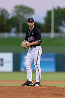 ASU Sun Devils starting pitcher Alec Marsh (8) during an Instructional League game against the Texas Rangers at Surprise Stadium on October 6, 2018 in Surprise, Arizona. (Zachary Lucy/Four Seam Images)