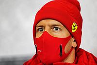8th October 2020, Nuerburgring, Nuerburg, Germany; FIA Formula 1 Eifel Grand Prix;  5 Sebastian Vettel GER, Scuderia Ferrari Mission Winnow