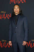 "LOS ANGELES - MAR 9:  Jason Scott Lee at the ""Mulan"" Premiere at the Dolby Theater on March 9, 2020 in Los Angeles, CA"