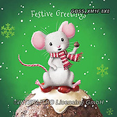 Sandra, CHRISTMAS ANIMALS, WEIHNACHTEN TIERE, NAVIDAD ANIMALES, paintings+++++,GBSSXM1F8X8,#xa#