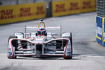 Neel Jani of Switzerland from DRAGON competes in the Formula E Qualifying Session 1 during the FIA Formula E Hong Kong E-Prix Round 1  at the Central Harbourfront Circuit on 02 December 2017 in Hong Kong, Hong Kong. Photo by Marcio Rodrigo Machado / Power Sport Images