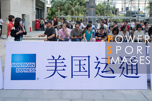 Red Carpet event at the World Celebrity Pro-Am 2016 Mission Hills China Golf Tournament on 20 October 2016, in Haikou, China. Photo by Marcio Machado / Power Sport Images