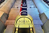 - Milan, Midnight Palace, historic home of the stock exchange, exceptionally enlightened on the occasion of a meeting....- Milano, Palazzo Mezzanotte, sede storica della borsa valori, illuminato eccezionalmente in occasione di un convegno