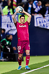 Ximo Navarro of Deportivo Alaves during La Liga match between CD Leganes and Deportivo Alaves at Butarque Stadium in Leganes, Spain. February 29, 2020. (ALTERPHOTOS/A. Perez Meca)
