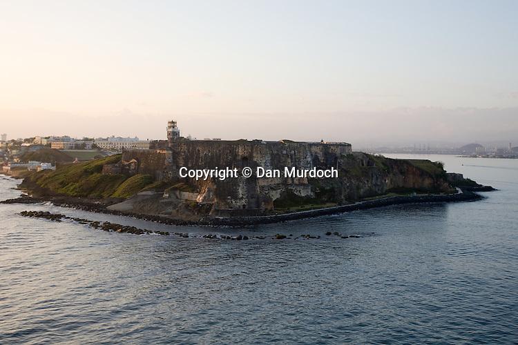 El Castillo San Felipe del Morro - one of the two Spanish forts guarding San Juan, Puerto Rico