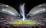 The closing ceremony of the HSBC Hong Kong Rugby Sevens 2018 on 08 April 2018, in Hong Kong, Hong Kong. Photo by Chung Yan Man / Power Sport Images