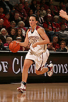 2 February 2008: Stanford Cardinal Jillian Harmon during Stanford's 75-62 win against the UCLA Bruins at Maples Pavilion in Stanford, CA.