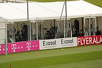 Mannschaft trainiert im Fitnesszelt - Seefeld 04.06.2021: Trainingslager der Deutschen Nationalmannschaft zur EM-Vorbereitung