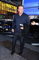 NEW YORK, NY- October 21: Alec Baldwin at Good Morning America promoting the new movie, Motherless Brooklyn on October 21, 2019 in New York City. Credit: RW/MediaPunch