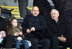 St Johnstone v Motherwell…20.02.16   SPFL   McDiarmid Park, Perth<br />Former saints player Paul Sheerin now a coach at Aberdeen watches the game<br />Picture by Graeme Hart.<br />Copyright Perthshire Picture Agency<br />Tel: 01738 623350  Mobile: 07990 594431