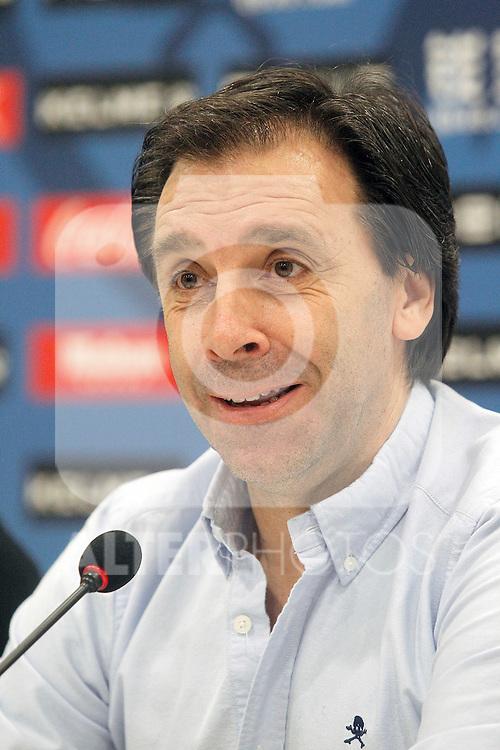 Rayo Vallecano's General Manager Felipe Minambres. August 04, 2015. (ALTERPHOTOS/Acero)