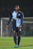 Aaron Pierre of Wycombe Wanderers during the Sky Bet League 2 match between Wycombe Wanderers and Notts County at Adams Park, High Wycombe, England on 15 December 2015. Photo by Andy Rowland.