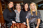 Christine Leahy, Helen McElligott, Annette and Emma Lowham enjoying Little Women's Christmas in Bella Bia on Monday.