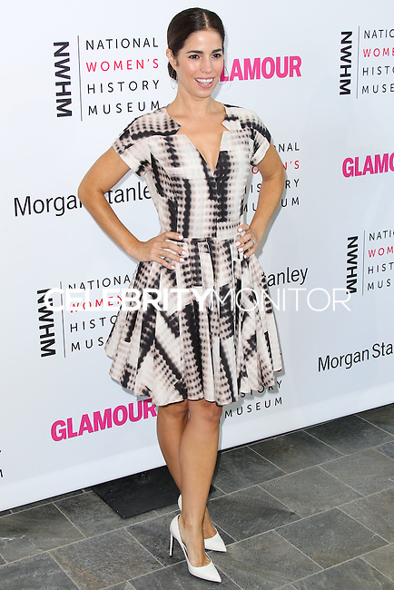 LOS ANGELES, CA, USA - AUGUST 23: Ana Ortiz arrives at The National Women's History Museum and Glamour Magazine's 3rd Annual Women Making History Brunch held at the Skirball Cultural Center on August 23, 2014 in Los Angeles, California, United States. (Photo by Xavier Collin/Celebrity Monitor)