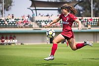 STANFORD, CA - September 3, 2017: Jaye Boissiere at Cagan Stadium. Stanford defeated Navy 7-0.