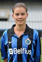 Club Brugge Vrouwen : Charlotte Laridon<br /> foto David Catry / nikonpro.be