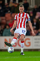 10th December 2019; Bet365 Stadium, Stoke, Staffordshire, England; English Championship Football, Stoke City versus Luton Town; Ryan Shawcross of Stoke City making his comeback after injury -Strictly Editorial Use Only. No use with unauthorized audio, video, data, fixture lists, club/league logos or 'live' services. Online in-match use limited to 120 images, no video emulation. No use in betting, games or single club/league/player publications