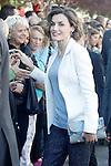 Queen Letizia of Spain attends the opening of 2015-2016 scholarship course at 'Marques de Santillana' school on September 21, 2015 in Palencia, Spain. September 21,2015. (ALTERPHOTOS/Acero)