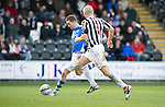St Mirren v St Johnstone.....02.02.13      Scottish Cup.Steven MacLean through on goal puts his effort wide.Picture by Graeme Hart..Copyright Perthshire Picture Agency.Tel: 01738 623350  Mobile: 07990 594431