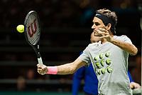 Rotterdam, Netherlands, 12 Februari, 2018, Ahoy, Tennis, ABNAMROWTT, Roger Federer (SUI)<br /> Photo:tennisimages.com