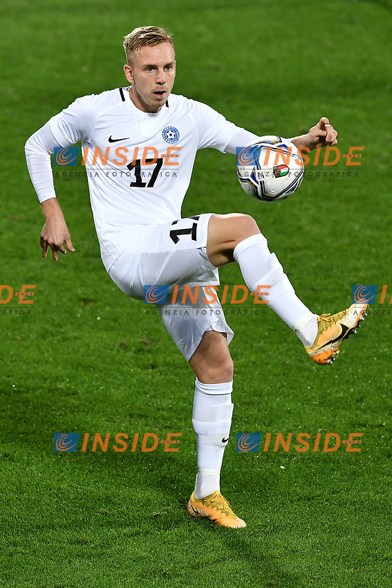 Martin Miller of Estonia in action during the friendly football match between Italy and Estonia at Artemio Franchi Stadium in Firenze (Italy), November, 11th 2020. Photo Andrea Staccioli/ Insidefoto
