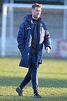 Walthamstow manager Max Mitchell during Walthamstow vs Sawbridgeworth Town, Essex Senior League Football at Wadham Lodge Sports Ground on 8th February 2020