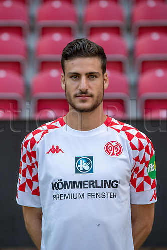 16th August 2020, Rheinland-Pfalz - Mainz, Germany: Official media day for FSC Mainz players and staff; Keeper Omer Hanin FSV Mainz 05