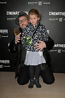 Xavier BEAUVOIS et sa fille Madeleine - Avant-Premiere du film LES GARDIENNES de Xavier Beauvois - La Cinematheque francaise - 1 decembre 2017 - Paris - France # AVANT-PREMIERE 'LES GARDIENNES' A PARIS