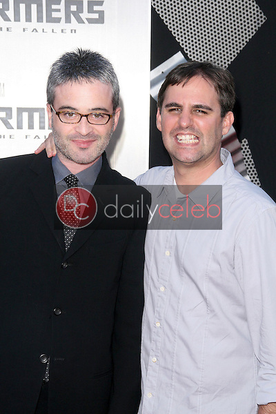 Roberto Orci and Ehren Kruger<br />at the Los Angeles Premiere of 'Transformers Revenge of the Fallen'. Mann Village Theatre, Westwood, CA. 06-22-09<br />Dave Edwards/DailyCeleb.com 818-249-4998