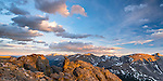 evening on Trail Ridge at Rock Cut in Rocky Mountain National Park, Colorado, USA