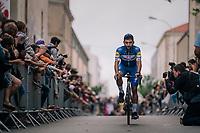 Fernando Gaviria (COL/Quick Step Floors) at the Team presentation in La Roche-sur-Yon<br /> <br /> Le Grand Départ 2018<br /> 105th Tour de France 2018<br /> ©kramon