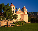 Mission Santa Barbara so called Queen of the Missions is the tenth founded in 1786 on the California  chain of missions