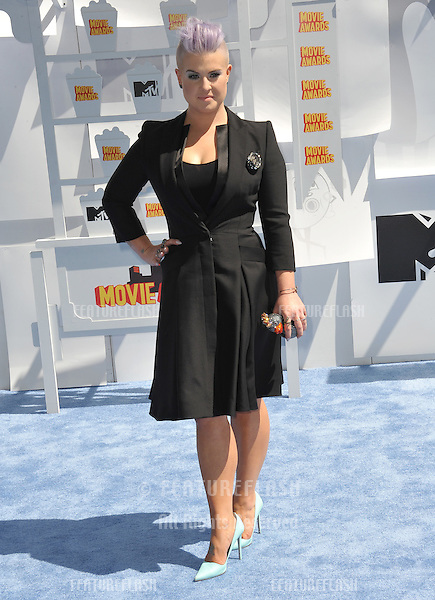 Kelly Osbourne at the 2015 MTV Movie Awards at the Nokia Theatre LA Live.<br /> April 12, 2015  Los Angeles, CA<br /> Picture: Paul Smith / Featureflash