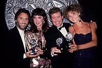 Ron Silver Joanne Gleason .Michael Crawford, Joan Allen.1988 Photo by Adam Scull-PHOTOlink.net