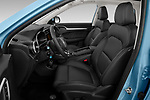 Front seat view of 2020 Mg MG-ZS-EV Luxury 5 Door SUV Front Seat  car photos