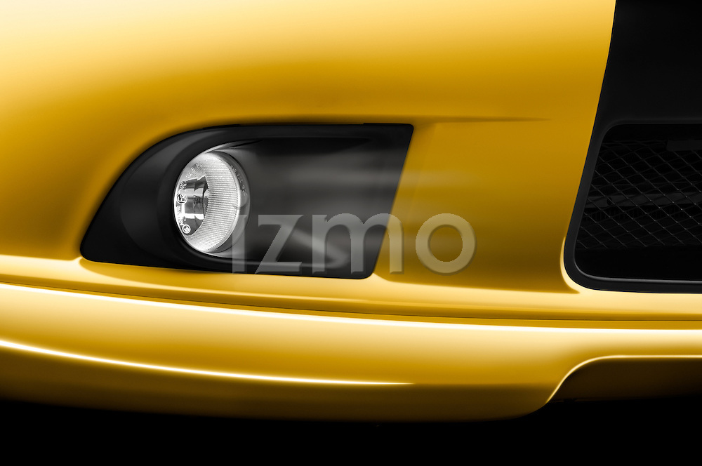 Closeup deatil of the fog light on a 2009 Mitsubishi Eclipse GT Coupe