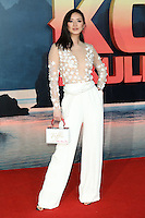 """Betty Bachz<br /> arrives for the """"Kong: Skull Island"""" premiere, Empire Leicester Square, London.<br /> <br /> <br /> ©Ash Knotek  D3235  28/02/2017"""