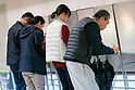 Japanese voters cast ballots in national elections