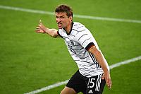 2nd June 2021, Tivoli Stadion, Innsbruck, Austria; International football friendly, Germany versus Denmark;  Thomas MUELLER GER  gestures