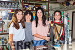 MAura Healy Rae fills a pint after reopening the family bar in Kilgarvan on Friday evening with her mum Eileen and sisters
