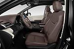 Front seat view of 2021 Toyota Sienna Platinum 5 Door Minivan Front Seat  car photos
