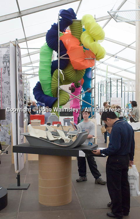 Royal College of Art Degree Show, London 2007