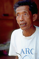 Comrade Duch (real name Kaing Guek Eav) confesses to mass murder. As chief executioner of the Khmer Rouge when they were in power he was responsible for Tuol Sleng prison, where at least 14,000 people were interned and only seven survived. .Photographer Nic Dunlop unearthed Duch working with the American Refugee Committee in 1999. He is currently awaiting trial.