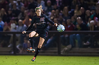 STANFORD, CA - November 21, 2014: Kendall Romine during the Stanford vs Arkansas women's second round NCAA soccer match in Stanford, California.  The Cardinal defeated the Razorbacks 1-0.