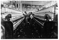 Newberry, South Carolina, USA - Dec. 3/1908<br /> <br /> Spinners & doffers in Mollahan Mills, Newberry, S.C. Many others as small. Dec. 3/08. Sara R. Hine, Witness. Location: Newberry, South Carolina / Photo by Lewis W. Hine