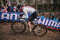 Kevin Kuhn (SUI)<br /> <br /> U23 Men's Race<br /> UCI CX Worlds 2018<br /> Valkenburg - The Netherlands