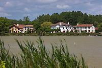 Europe/France/Aquitaine/40/Landes/Env de Saint-Barthélemy , à Lartigue,   Vallée de l'Adour:  // France, Landes,  near Saint-Barthélemy ,  Adour Valley:
