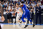 Real Madrid's Andres Nocioni and Anadolu Efes's Deshaun Thomas during Turkish Airlines Euroleague match between Real Madrid and Anadolu Efes at Wizink Center in Madrid, April 07, 2017. Spain.<br /> (ALTERPHOTOS/BorjaB.Hojas)